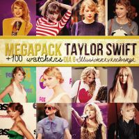 Megapack 100 +Watchers Dia 6 Taylor Swift. by IllusionNeverChange