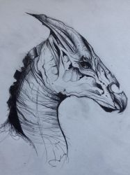 Thestral by aughtt