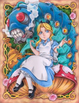 Alice In Wonderland by DRAB-APPLE