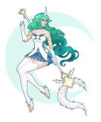 Star Guardian Soraka by Bakaruru