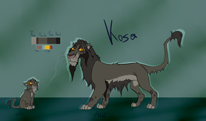 Kosa by GreenCharisard