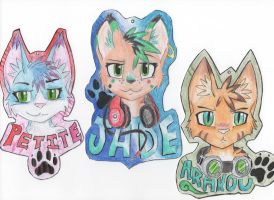Con Badges -Updated- by Arakou-Swift