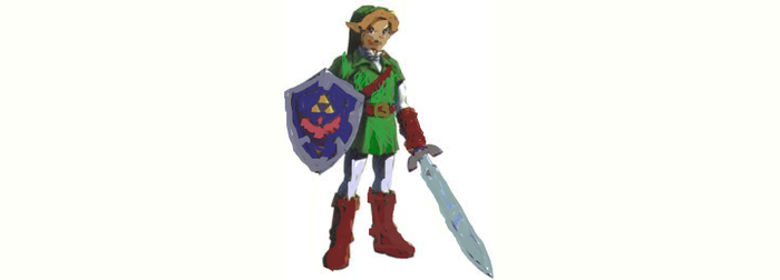 LINK OCARINA OF TIME by battlemage01