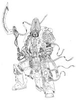 thousand sons sorcerer by cyphercodicer2