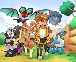 Pokemon Family: FluffyExplorers