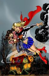 Supergirl by Bathill8  2 by THE-Darcsyde