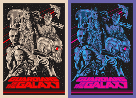 Guardians of the Galaxy VARIENTS by MessyPandas