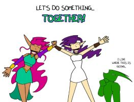 Let's Do Something Together by SinComics