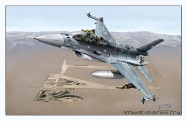 F-16D 858 Chilean Air Force by Hikaru84