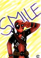 Deadpool - Smile by Giorgia99