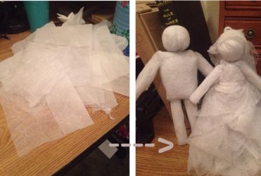 Making Dolls from Dryer Sheets by KanraXiong