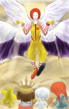 Dancing MaDonalds by Jcdr