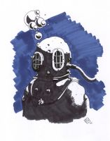 Classic Diver by SiriusArtWorks