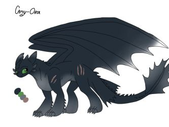 Night fury Adopt 10 CLOSED by Camy-Orca