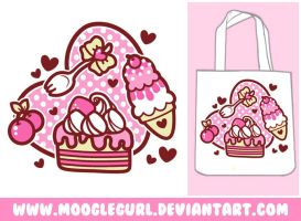 Sugar Sweets Tote by MoogleGurl