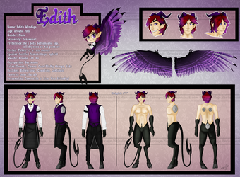 Reference Sheet : Edith by Savage-Mojo