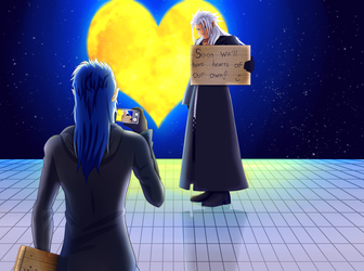 Kingdom Hearts Photo Time! by FlyingPings