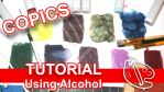 Tutorial: Using Alcohol with Copics [Vid] by sambeawesome