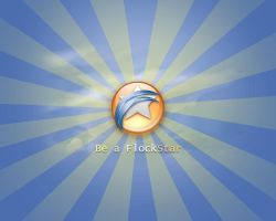Be a FlockStar Wallpapers by weboso