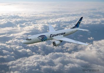 EgyptAir 3d Airplane 02 by osmanassem