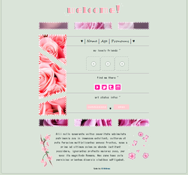 f2u - pink roses non-core custombox by Eliktras