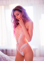 Soft pink by RomyHime