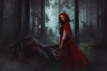Little Red Riding Hood by ViSheb
