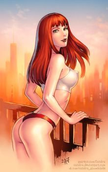 Mary Jane (SFW version) by Candra