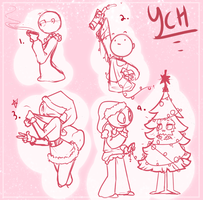 Christmas YCH (CLOSED) by Rustyx3x