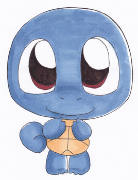 Squirtle by LeniProduction