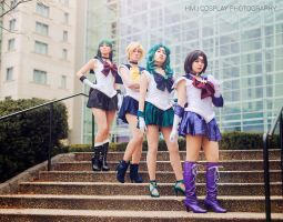 Katsucon 2015 - Outer Senshi by King-Bobbles