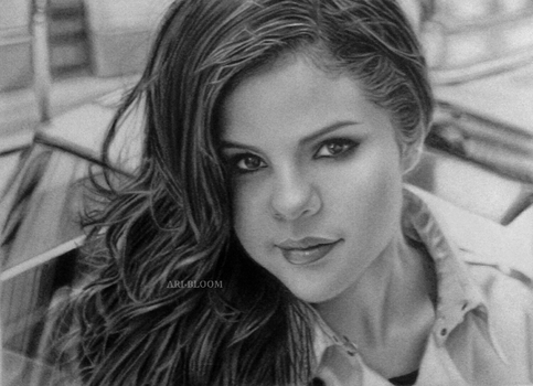 Selena Gomez by ARI-BLOOM