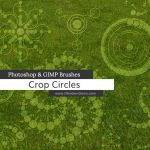 Crop Circles Photoshop and GIMP Brushes by redheadstock