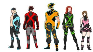 X-men Concepts by illuminate01