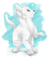 Warrior Cats Calender 3. Silent Snowfall by PlatinPaw