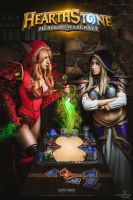 Jaina vs Valeera by Narga-Lifestream