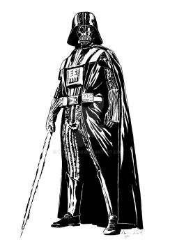 Darth Vader by warmuzak