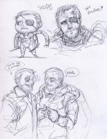 MGS - solidus sketches by FerioWind