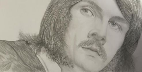 'Bonzo' John Bonham by katherinelovesart