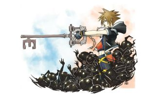 Obsession of the keyblade by Monekke