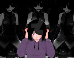 [MMD] Nightmare by o0Glub0o