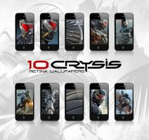 Crysis - Retina wallpapers for the iPhone by manuphilip