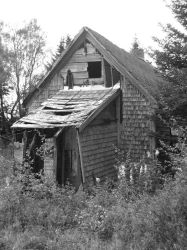 Creepy Shack by witchdoktor
