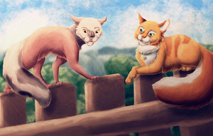 The Kittypet and the Warrior by Jayie-The-Hufflepuff