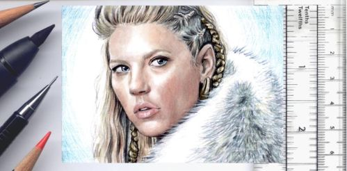 Vikings sketchcard by whu-wei