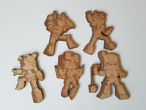 Wooden Bots by Breakfast-Tee