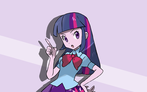 My Little Pony - Twilight Sparkle Trainer Edit by chocomiru02
