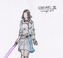 Star Wars Episode 7: Daisy Ridley costume by IronWarrior777
