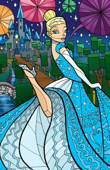 CINDERELLA by CThompsonArt