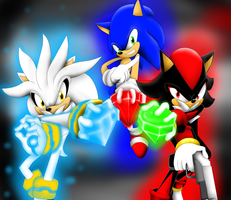 team heroes by SonicXstar